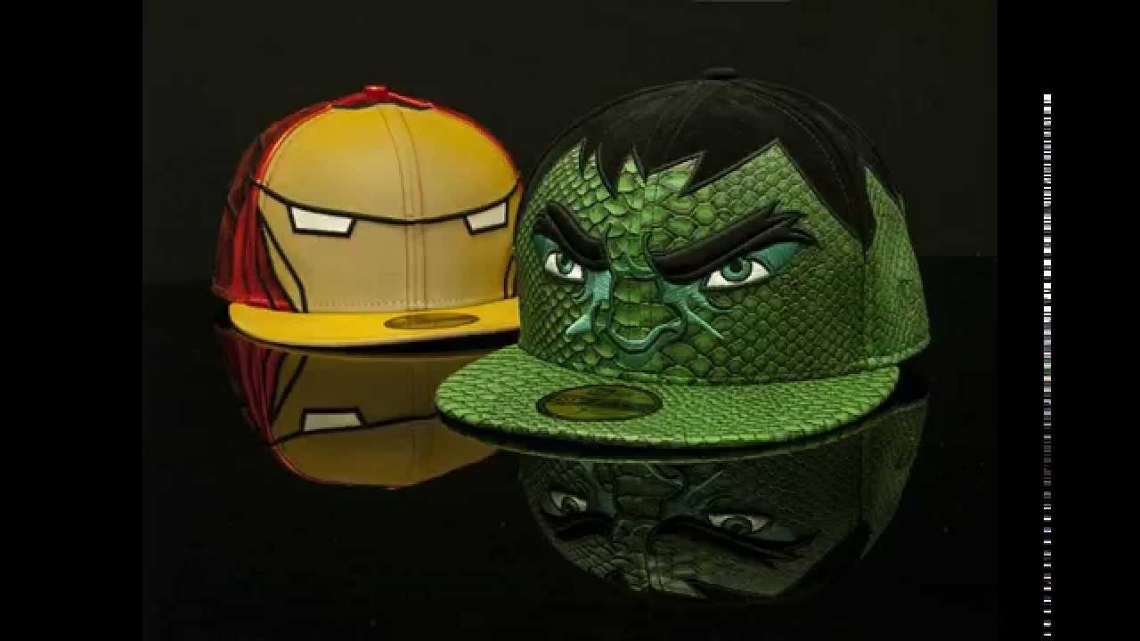 87b94d22e157f Gorras Superheroes New Era Marvel - YouTube