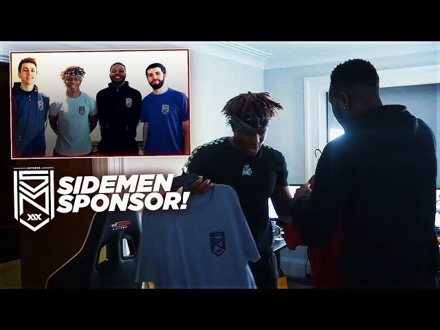 First Pro Athlete Sponsored By The Sidemen!