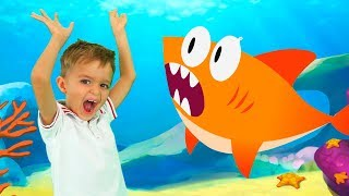 Baby Shark - Sing and Dance | Kids Song from Vlad and Nikita