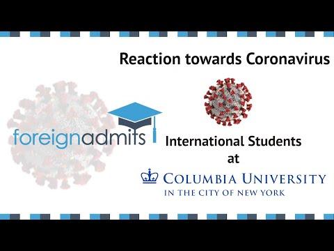 How Coronavirus Will Impact International Students? | Ep6 MS (Columbia University) [ForeignAdmits]