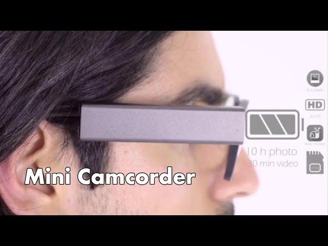 Q7 Wearable Glasses Camera Smart Wink Sensing Mini Camcorder