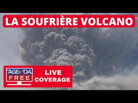 La Soufriere Volcano Eruption Continues in St. Vincent - LIVE COVERAGE