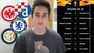 Moje predviđanje za 1/8 finala Lige Evrope