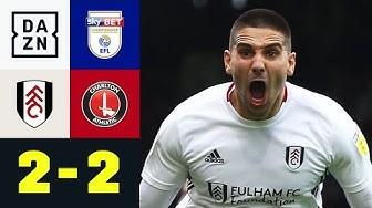 Mitrovic sichert Fulham einen Punkt: Fulham - Charlton 2:2 | EFL Championship | DAZN Highlights