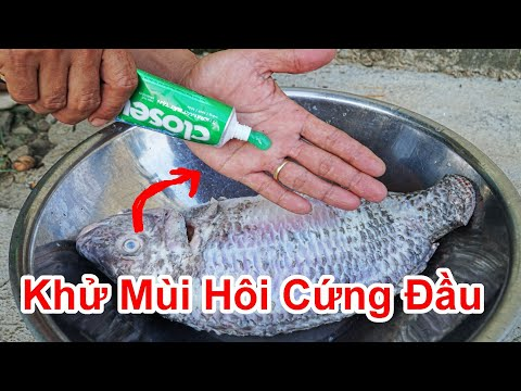 Cách Khử Bay Mùi Hôi Thối Cứng Đầu Bám Vào Tay / Mẹo Khử Mùi Hôi Thịt Cá Dính Tay . deodorization