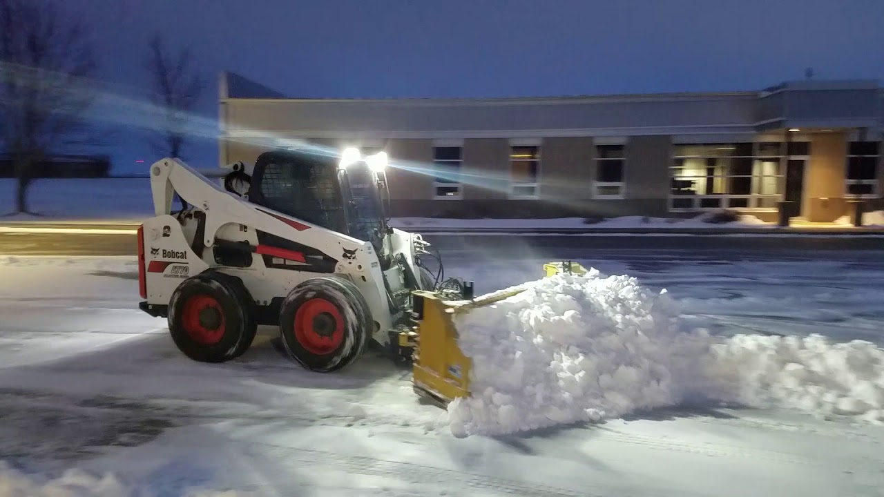 Bobcat A770 And Hla Snow Wing Bobcat Toolcat And Sweeper