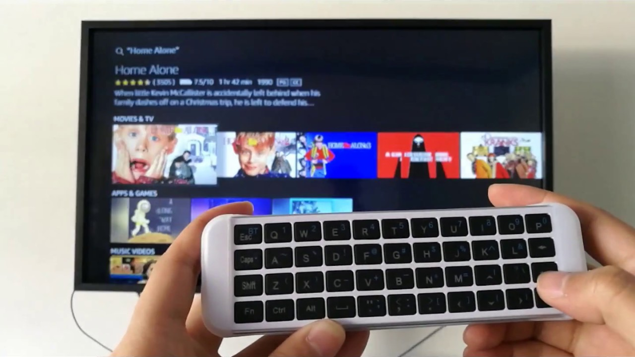 fca16e283af18d (KP-810-30B Backlit) How to use ipazzport bluetooth keyboard for fire stick/new  fire tv?