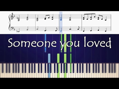 How To Play The Piano Part Of Someone You Loved By Lewis Capaldi