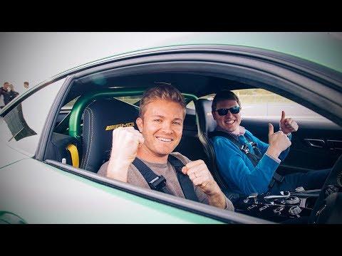 RACING SHMEE150'S NEW MERCEDES-AMG GTR! | NICO ROSBERG | VLOG