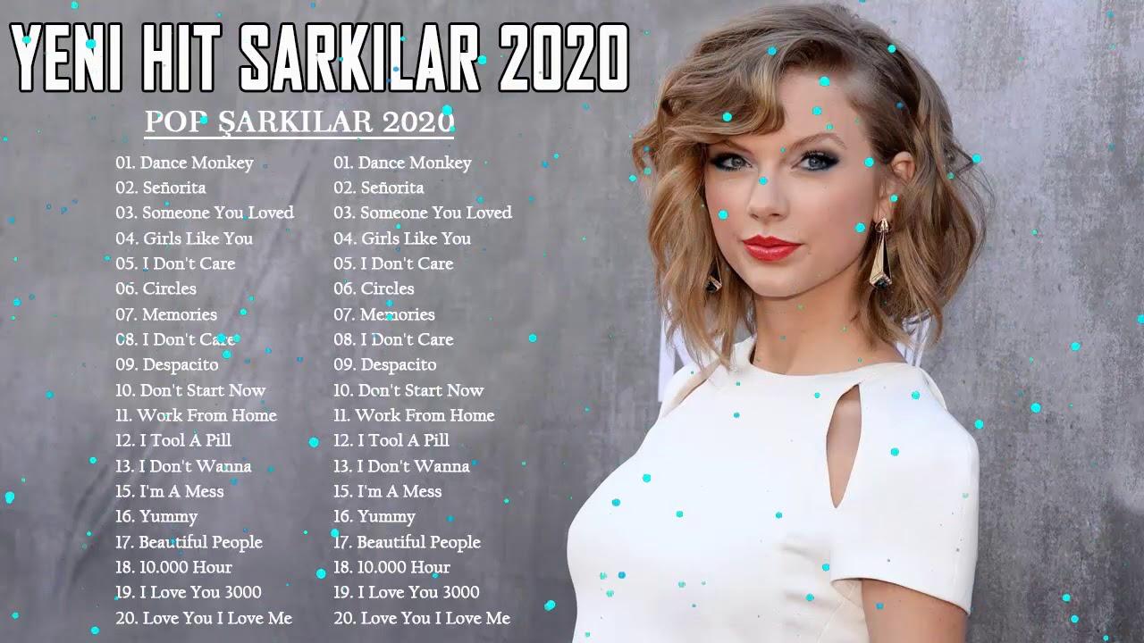 2020 Yabancı Şarkılar - Popüler 2020 Hit Yabancı ☞ En Iyi Hit Yabancı Şarkılar 2020