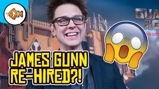 James Gunn REHIRED By Disney For Guardians Of The Galaxy Vol 3