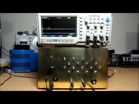 Cosmic Ray (Muon) 18 Tube Drift Hodoscope