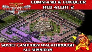 Red Alert 2 - Soviet Campaign Speedrun ( Difficulty HARD )