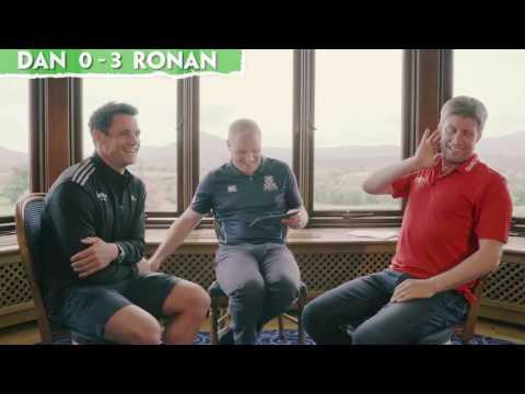 Lions Charity Quiz - Ronan O'Gara versus Dan Carter