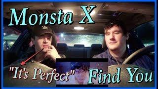 "MONSTA X (몬스타엑스) - FIND YOU MV Reaction ""It's Perfect"" ~Brys…"