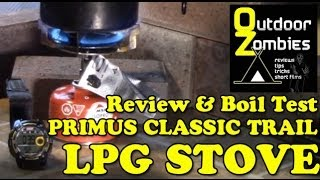 Review and boil test of the Primus Classic Trail LPG Stove - OutDoorZombies
