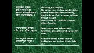 Rig Veda Full Purusha Sukta for RECITATION