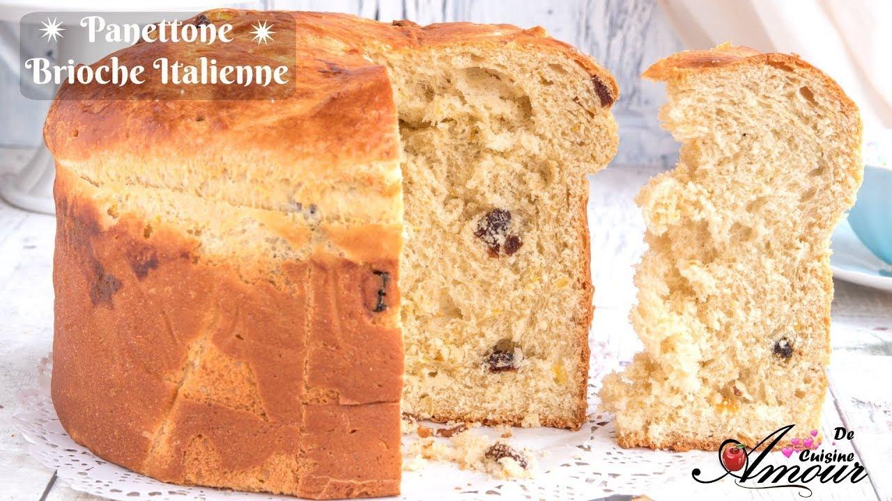 Recette du panettone brioche italienne moelleuse a r e - Youtube cuisine italienne ...