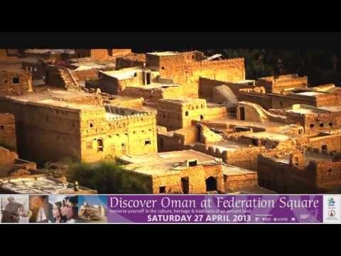 Omani Exhibition 2013 Advert (Melbourne) - Australia