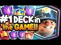 THIS IS THE #1 DECK IN CLASH ROYALE?!
