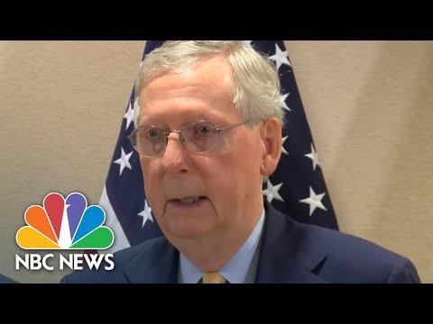 Senator Mitch McConnell Announces New Opioid Prevention Legislation | NBC News
