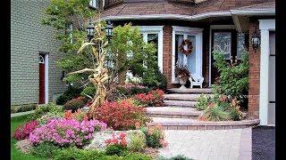 Лучший дизайн входа в дом. ПАРАДНАЯ ЗОНА усадьбы.