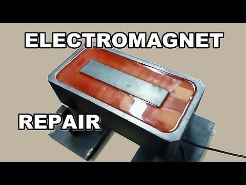 видео: Сборка мощного «Электромагнита»  прямоугольной формы