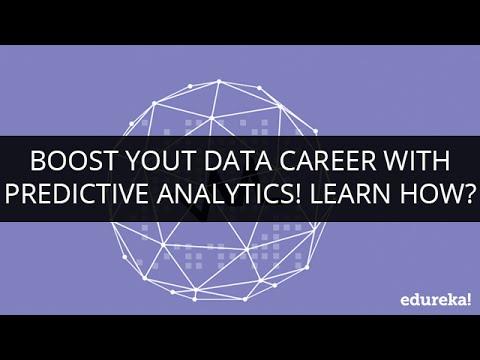 Boost Your Data Career with Predictive Analytics! Learn How ? | Edureka