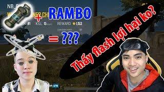 Rambo phải bật cười sau pha ném Flash cực trí của RIP113