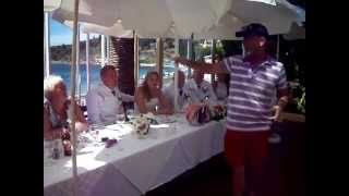 Lian and Ally Wedding in Kassiopi on Corfu with KCTV in attendance