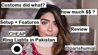 I BOUGHT THE CHEAPEST RING LIGHT FROM ALI EXPRESS   REVIEW   Pari Shumial
