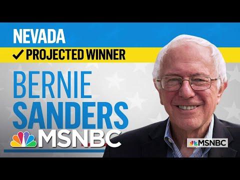 Sen. Bernie Sanders Is The Projected Winner Of The Nevada Democratic Caucus | MSNBC