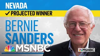 Gambar cover Sen. Bernie Sanders Is The Projected Winner Of The Nevada Democratic Caucus | MSNBC
