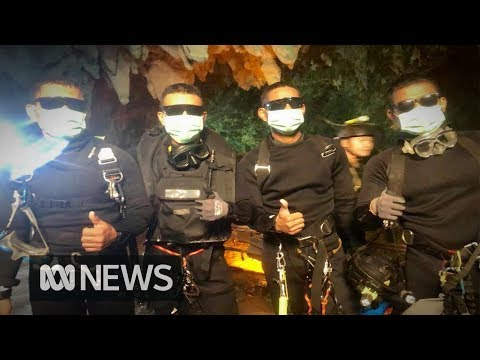 Thai cave rescue: All 12 boys and coach free after three-day diving mission