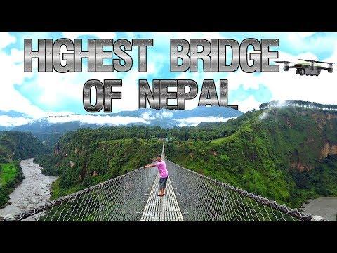 KUSHMA PARBAT - HIGHEST BRIDGE OF NEPAL (कुश्मा पर्बत ,अग्लो पुल )