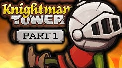 Knightmare Tower | Super Mega Random Flash Game | Part 1/3