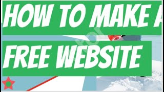 Best  and Quick Website Builder - Free Website Builder Online! (Quick And Easy Tutorial)