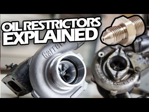 TURBO OIL RESTRICTORS EXPLAINED - GARRETT Turbo Talk