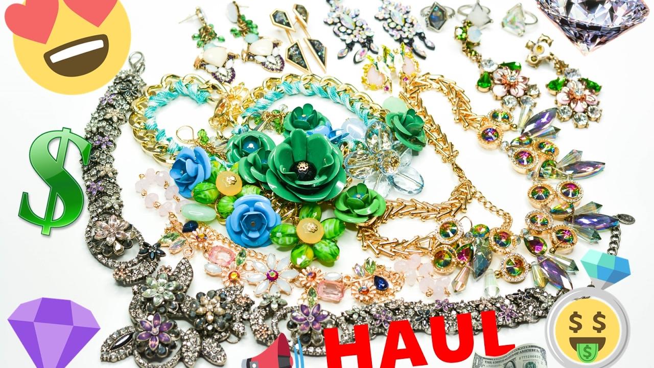 HAUL  Biżuteria  z Zaful