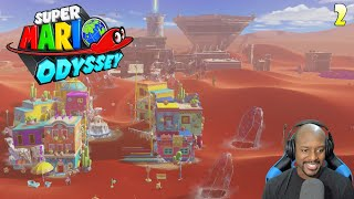 Sand Kingdom! | Replaying Super Mario Odyssey Part 2
