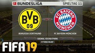 ⚽ FIFA 19 Bundesliga Borussia Dortmund : FC Bayern München 🏆 Gameplay Deutsch Livestream