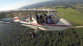 Flying to the CLMF Spring Fly-in, 10 Jun 2017