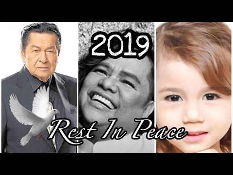 Famous Filipino Celebrities who died in 2019