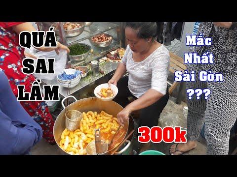 Sai Lam An Thu Quan Banh Canh Cua 300k | Du Lich Mon An Ngon