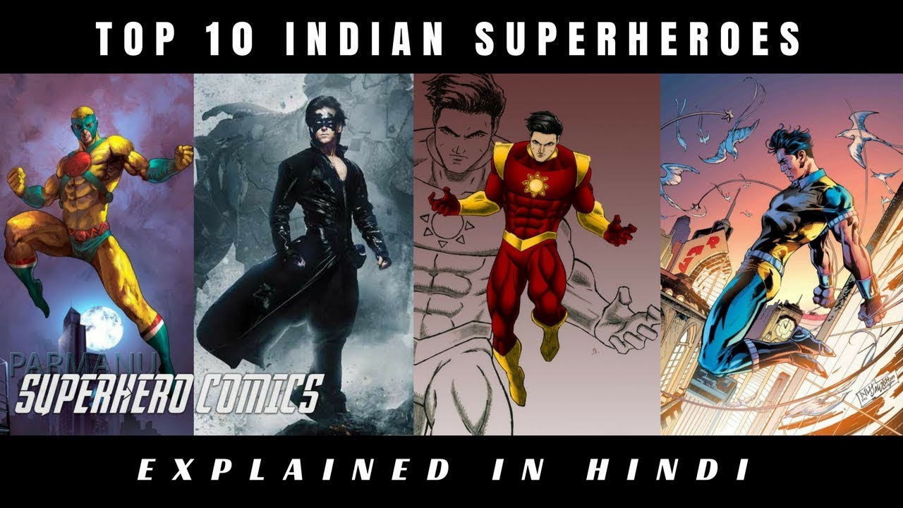 Most Powerful Indian Superhero | Top 10 Indian Superhero | Superhero Comics | Explained In Hindi