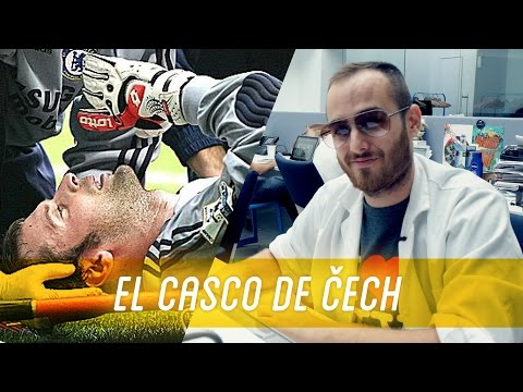 La verdadera razón del casco de Petr Cech