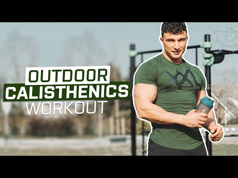 OUTDOOR CALISTHENICS WORKOUT FOR MUSCLE MASS!