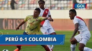 Gol de Colombia vs Perú: Mateus Uribe anotó el 0-1, en el estadio Monumental | Gol Caracol