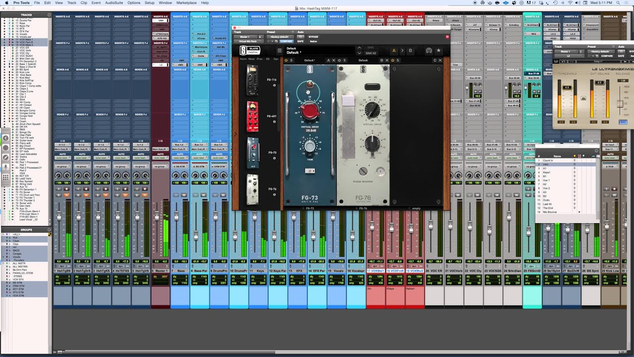Slate Digital FG 73 & FG 76 Mixing With Mike Plugin of the Week