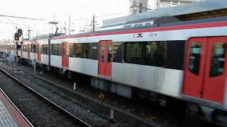 都営5500型快速 京成津田沼発車